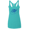 Ocean Blue OBX Lyfe Ladies' Triblend Racerback Tank in 5 Colors