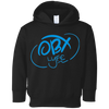 OBX Lyfe Sky Blue Rabbit Skins Toddler Fleece Hoodie in 5 Colors