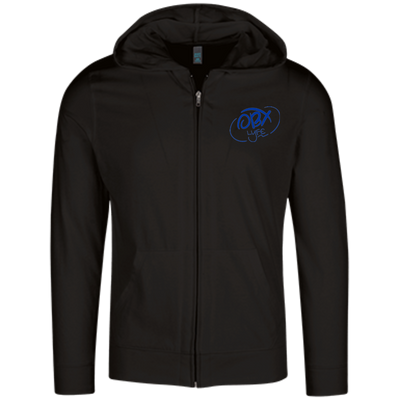 Ocean Blue OBX Lyfe Lightweight Full Zip Hoodie in 3 Colors