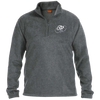 Cloud White OBX Lyfe 1/4 Zip Fleece Pullover in 6 Colors