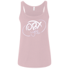 Cloud White OBX Lyfe Bella + Canvas Ladies' Relaxed Jersey Tank in 5 Colors