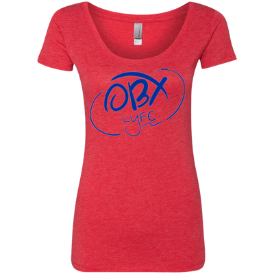 Ocean Blue OBX Lyfe Ladies' Triblend Scoop in 4 Colors