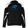 OBX Lyfe Sky Blue Youth Colorblock Hoodie