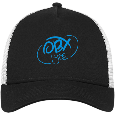Sky Blue OBX Lyfe New Era® Snapback Trucker Cap