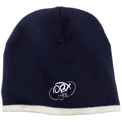Cloud White OBX Lyfe 100% Acrylic Beanie in 12 Colors