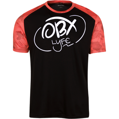 OBX Lyfe Cloud White Youth CamoHex Colorblock T-Shirt in 7 Colors