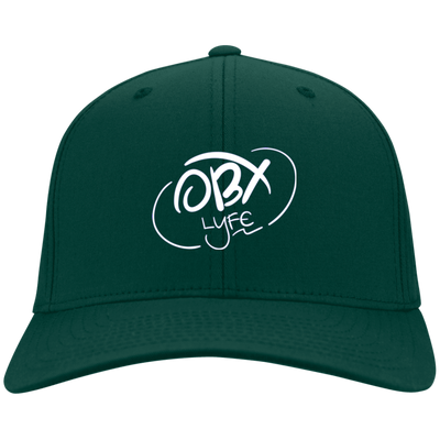 Cloud White OBX Lyfe Youth Dri-Fit Nylon Cap in 8 Colors
