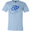 Ocean Blue OBX Lyfe Bella + Canvas Unisex Jersey Short-Sleeve T-Shirt in Multiple Colors