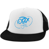 Sky Blue OBX Lyfe District Trucker Hat with Snapback