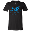 OBX Lyfe Sky Blue Bella + Canvas Youth Short Sleeve V-Neck Jersey T-Shirt in 4 Colors
