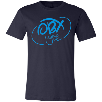 Sky Blue OBX Lyfe Bella + Canvas Unisex Jersey Short-Sleeve T-Shirt in Multiple Colors