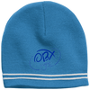 Cloud White OBX Lyfe Sport-Tek Colorblock Beanie in 7 Colors