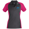 Sky Blue OBX Lyfe Ladies' Colorblock Sport-Wick Polo in 8 Colors