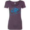 Sky Blue OBX Lyfe Ladies' Triblend Scoop in 6 Colors