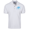 Sky Blue OBX Lyfe Port Authority Tall Cotton Pique Knit Polo in 3 Colors