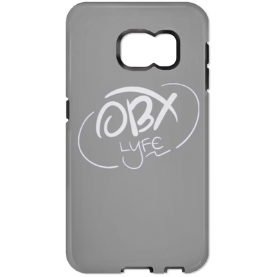 Cloud White OBX Lyfe Samsung Galaxy S7 Tough Case
