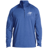 Cloud White OBX Lyfe 1/2 Zip Raglan Performance Pullover in 10 Colors