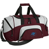 Embroidered Sky Blue OBX Lyfe Port & Co. Small Colorblock Sport Duffel Bag in 10 Colors