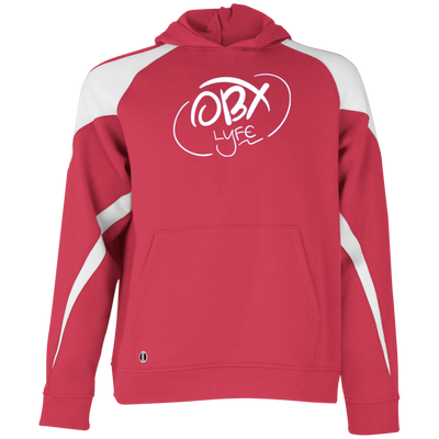 OBX Lyfe Cloud White Youth Colorblock Hoodie in 5 Colors
