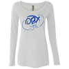 Ocean Blue OBX Lyfe Ladies' Triblend LS Scoop in 4 Colors