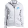 Sky Blue OBX Lyfe  Ladies' Full-Zip Hoodie in 8 Colors