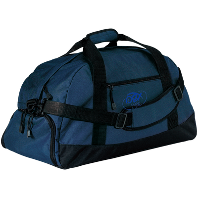 Embroidered Ocean Blue OBX Lyfe Port & Co. Basic Large-Sized Duffel Bag in 3 Colors