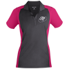 Cloud White OBX Lyfe Sport-Tek Ladies' Colorblock Sport-Wick Polo in 8 Colors
