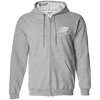 Cloud White OBX Lyfe Zip Up Hooded Sweatshirt in 15 Colors