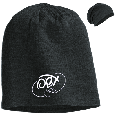 Cloud White OBX Lyfe Slouch Beanie in 7 Colors