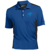 Sky Blue OBX Lyfe Nike Golf Dri-Fit Colorblock Mesh Polo in 4 Colors