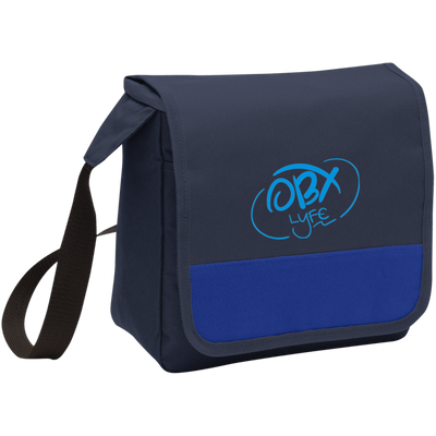 Embroidered Sky Blue OBX Lyfe Port Authority Lunch Cooler in 4 Colors
