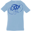 OBX Lyfe Ocean Blue Rabbit Skins Infant Jersey T-Shirt