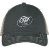 Cloud White OBX Lyfe District Mesh Back Cap in 5 Styles
