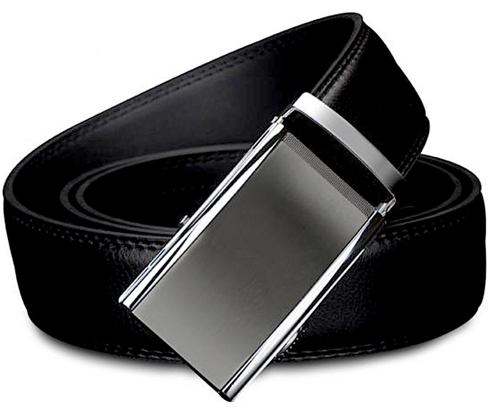 Black Luxury Ratchet Belt