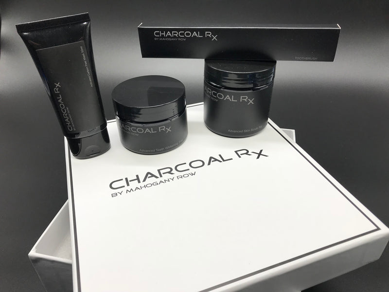 Charcoal RX Advanced Whitening, Mask and Scrub Collection