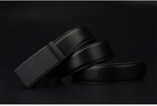 Luxury Matte Black Belt