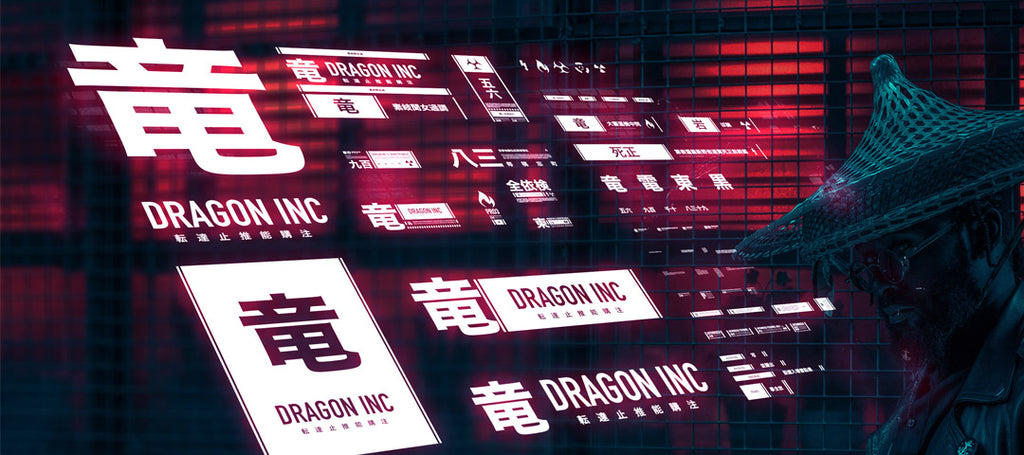 DRAGON INC DECAL SET - SIRCHARLES