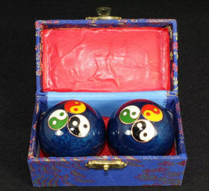 Blue Chiming Meditation Balls