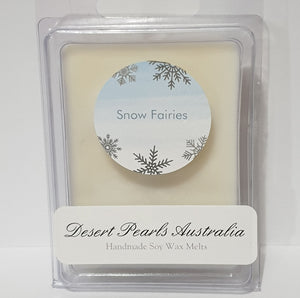 Snow Fairies 6 pack Soy Wax Melts