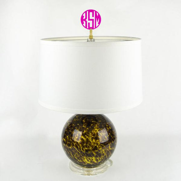 Monogram Lamp Finials