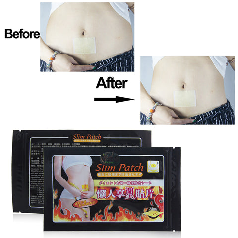 10PC/Bag Fat Burning Weight Loss Patch
