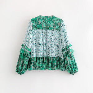 'Raina' Boho Blouse