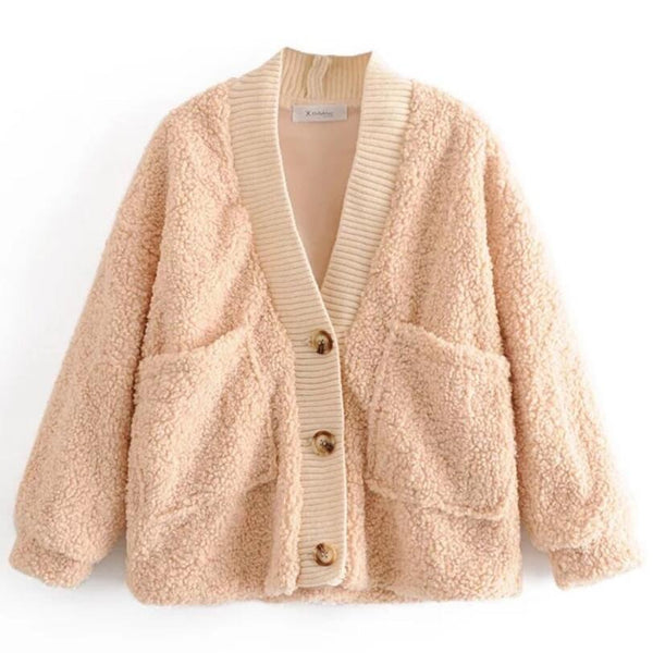 Teddy Bear Button Cardigan
