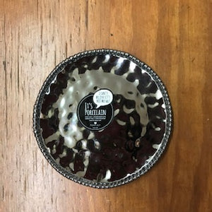Silver Round Salad Plate