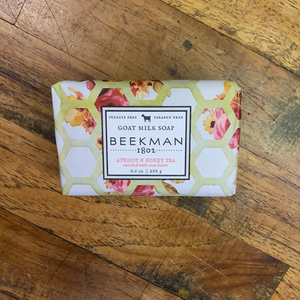 BEEKMAN GOAT MILK BAR SOAP/APRICOT & HON
