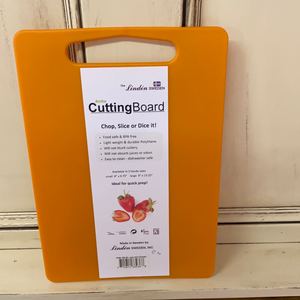 LINDEN ANITA CUTTING BOARDS/ORANGE