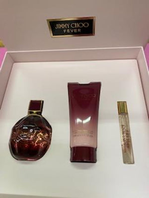 JIMMY CHOO WOMENS FEVER PERFUME SET