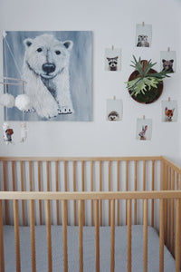 Winslow's Mama Bear Canvas Poster