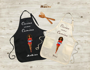 "Mother's Day Special! ""Cocina como Camina"" Apron/Delantal"