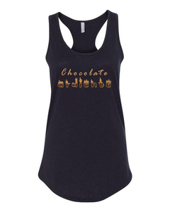 Chocolate Ardiente - Ladies' RacerBack Tank Top